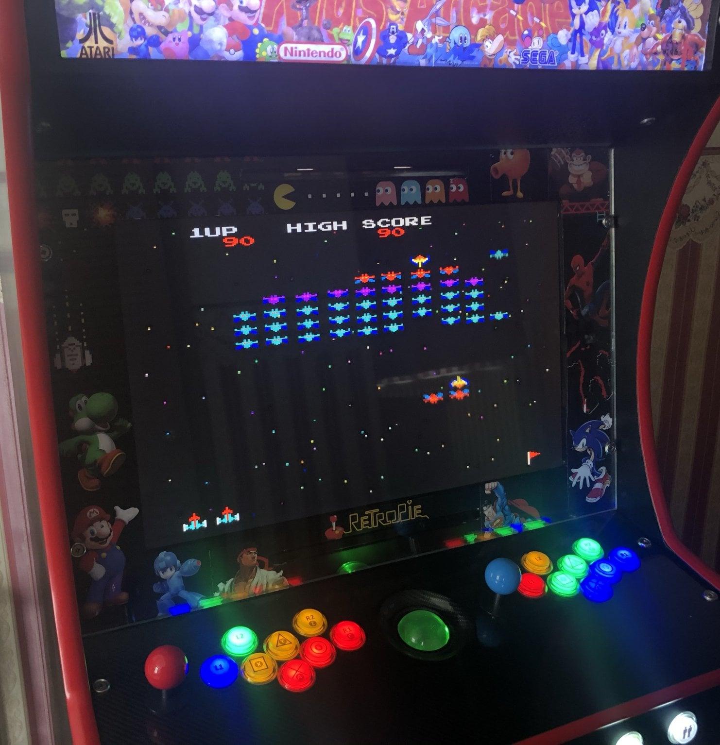 Arcade Cabinet Closeup