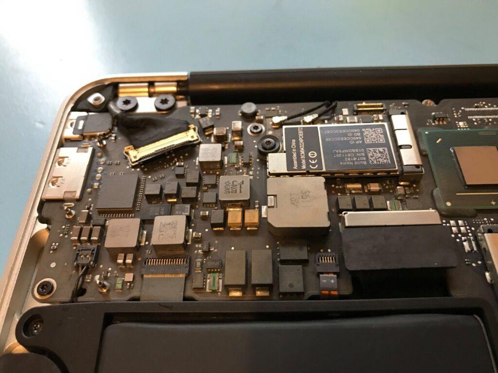 Laptop Spillage 1