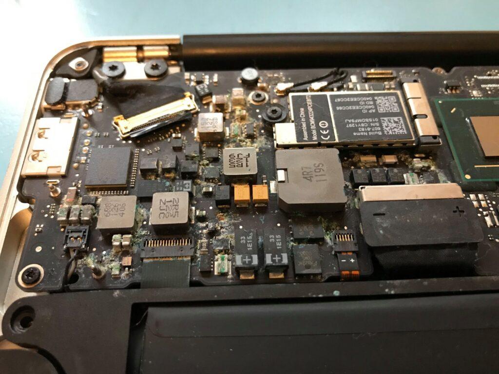 Laptop Spillage 2